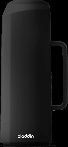 Garrafa Térmica Massima Rolha na cor preta