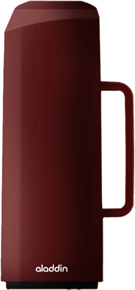 Garrafa Térmica Massima Rolha na cor marrom